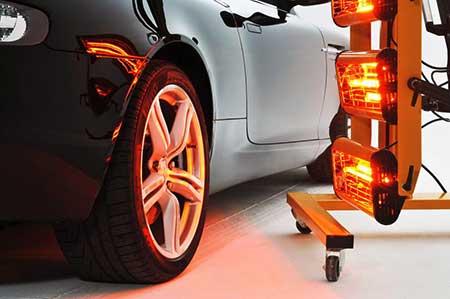sechage infrarouge protection céramique