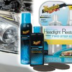 renovation phare voiture kit meguiars