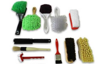 differentes brosses detailing auto