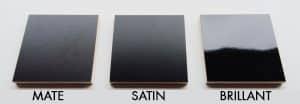 differences peinture matte brillante