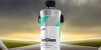 carpro ceriglass polish vitre