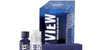 gyeon view revetement hydrophobe vitre pare-brise