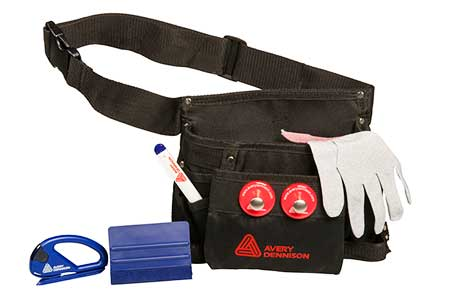 ceinture outils covering avery dennison