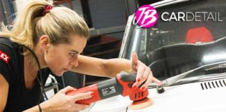 Justyna Brys detailing auto