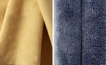 differences peau chamois microfibre