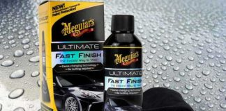 test avis meguiars ultimate fast finish