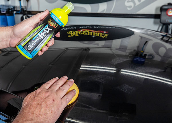 comment appliquer meguiars hybrid ceramic liquid wax