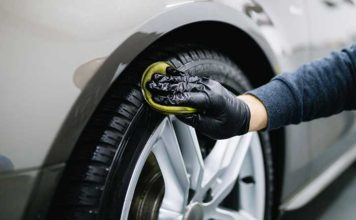 faire briller pneu voiture recette