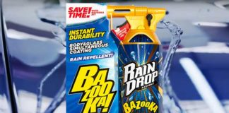 soft99 rain drop bazooka avis scellant