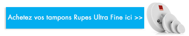 acheter tampon rupes ultra fine blanc